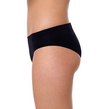 Yenita 6 Pack Women's Brief Panty – No Pinching Seamless Technology