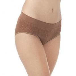 Vanity Fair Women's No Pinch-no Show Seamless Hip Brief Panty 18170