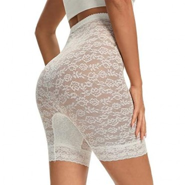 Lace Shapewear Short for Women Tummy Control Panties High Waist Thing Slimmer Anti Chafing Underwear