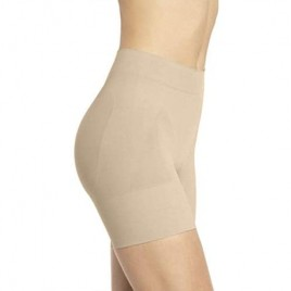 Lupo Women's Short Skin Shapewear High Compression with Lace Casual for Everyday Use