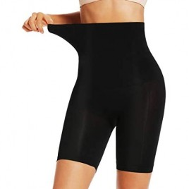 Shapewear Shorts for Women Thigh Slimmer with Lace Slip Shorts Under Dress Tummy Control Panties Body Shaper