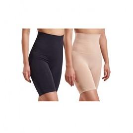 Skinnygirl Women's Mid Length Seamless Slip Shorts  Multipack