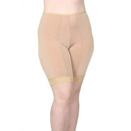 Undersummers Womens Slip Shorts Prevent Thigh Chafing Stay-Put Full Coverage (Small - Plus 5X)