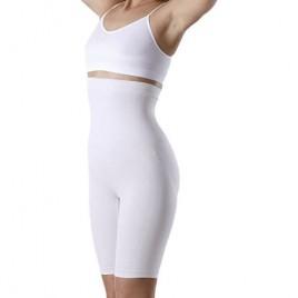 Yenita Women's Shapewear High-Waist Long Leg Thigh Slimmer Tummy Control