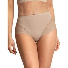Leonisa everyday tummy control thong for women - Butt lifter effect underwear Beige