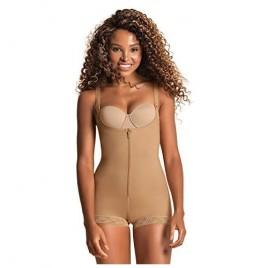 Leonisa Tummy Control Body Shaper for Women - Compression Shapewear Bodysuit