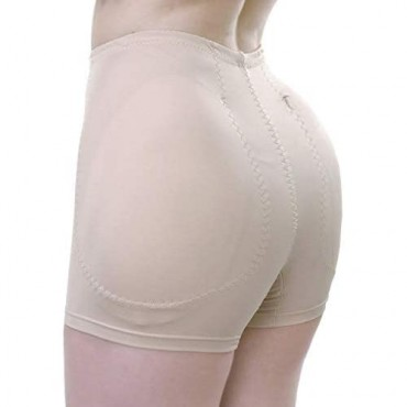 TerranEos Hip Enhancer Panties Shapewear Removeable Fake Buttock Booty Pads Seamless Underwear for Women
