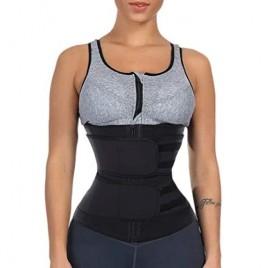 CHICME Women Waist Trainer Corset Trimmer Slimming Belt Sport Girdle Corset