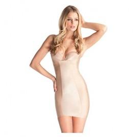 Body Hush Women's Glamour Slenderizing Torsette Slip BH1502MS