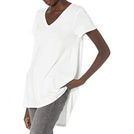 HUE Women's Short Sleeve Tunic Top