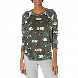 PJ Salvage Women's Loungewear Chillout Long Sleeve Top