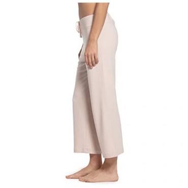 Barefoot Dreams Malibu Collection Women's Luxe Lounge Cropped Pant Luxury Loungewear Bottoms