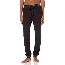 PJ Salvage Women's Loungewear Ciao Bella Banded Pant  Black  XS