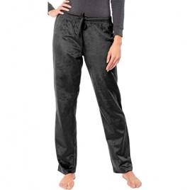 Sexy Basics Women's Super Cozy Fleece Pajama Bottom Lounge Pants/Warm Soft & Cozy Polar Fleece Lounge & Sleep PJ Pants