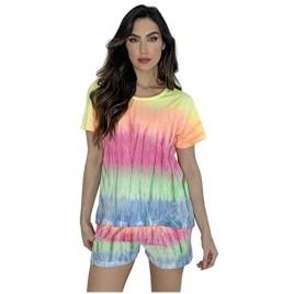 Just Love Tie Dye Shorts Set for Women