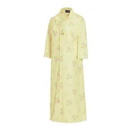KAKAO FRIENDS Official- Lemon Terrace One-piece Sleep Dress Nightgown Pajamas (Lemon Apeach)