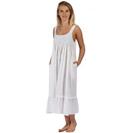 The 1 for U Nightgown 100% Cotton Sleeveless Women's Gown – Paige