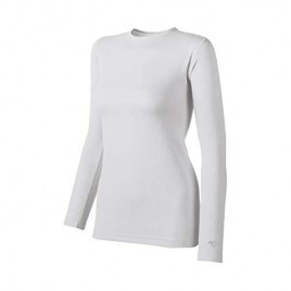 Duofold Women's Mid Weight Wicking Thermal Shirt White X-Small