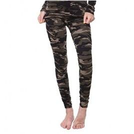 Women Thermal Underwear Base Layer Leggings with Soft Fleece; Ladies Lightweight Long Johns