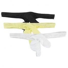 Naturemore Men's Sexy Elephant Nylon Underwear Briefs Trunk 3 Pack