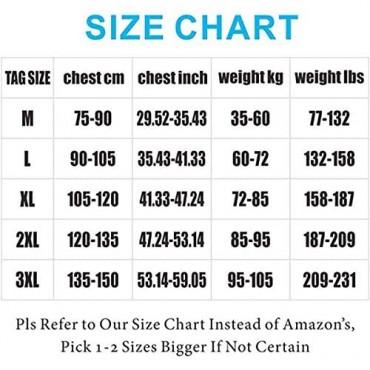 Gotop Mens Compression Shirt Shaper Vest Chest Shirt Slimming Body Tank Tops Abs Abdomen Undershirts