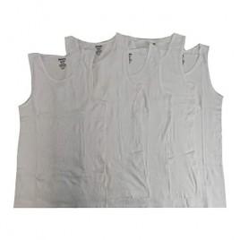 Reebok Men's 5 Pack Cotton Classic Ribbed Tank White Medium