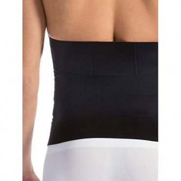 Farmacell Man 405BS Men's Waist Control Girdle Firm Body Shaping with Back splints 100% Made in Italy