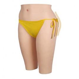 Liifun Realistic Silicone Pants Butt Shaper Hip Enhancer Shapewear for Crossdresser Transgender Cosplay