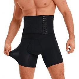 Men Tummy Control Shorts High Waist Body Shaper Compression Shapewear Belly Girdle Underwear Boxer Briefs