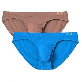 Men's Sexy Low Rise Briefs Pouch Underwear No Ride Up Lightweight Athletic Underpants