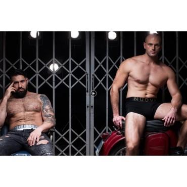 NUDUS Men's Cotton Underwear 4-Multipack Gift Box Briefs - Trunks - Boxer Briefs