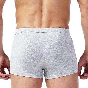 Bestag Mens 3D Wolf Owl Eagle Bulge Pouch Boxer Briefs Underwear