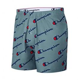Champion Men's C Script Knit Boxer