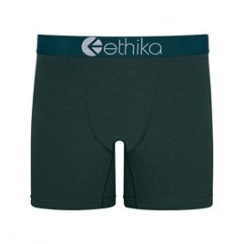 Ethika Mens Mid Boxer Briefs   Victory Green