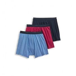 Jockey Men's Underwear Classic Cotton Mesh Boxer Brief - 3 Pack