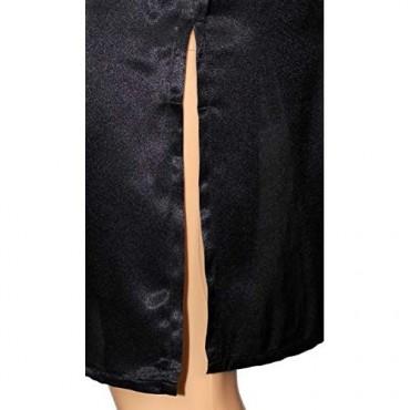 Mens Satin Night Shirt/Mens Night Shirt/Mens Nightgown