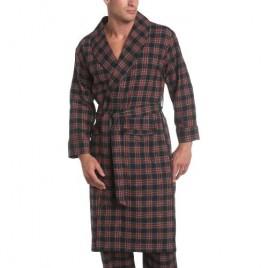 Nautica Men's Driver Tartan Flannel Robe