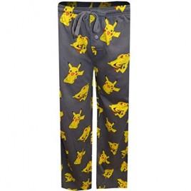 Bioworld Pokemon Pikachu Men's Sleep Pants