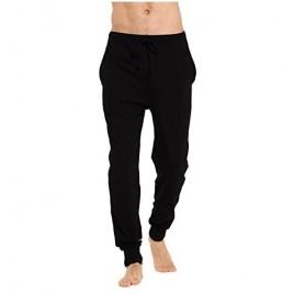 CYZ Men's Cotton Knit Jogger Lounge Pants with Drawstring