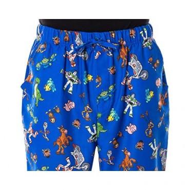 Disney Men's Toy Story Character Print Adult Sleep Lounge Pajama Pants
